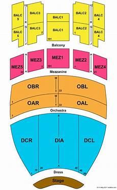 Gaillard Auditorium Seating Chart Gaillard Auditorium