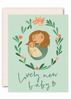 Congratulation Baby Cards Congratulations Baby Card A Lovely New Baby By Pencil Joy