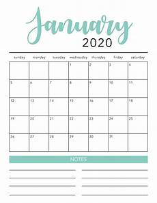 Calendar Print Out 2020 Free 2020 Printable Calendar Template 2 Colors I
