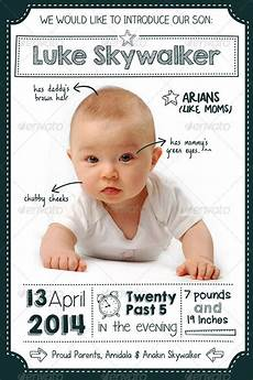 New Baby Announcement Cards 10 Very Special Baby Announcement Cards