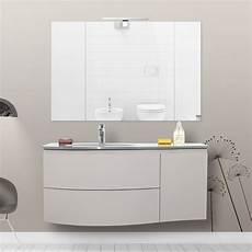 bagno mobile mobile arredo da bagno 110 cm lavabo in cristallo