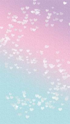 wallpaper iphone blue pastel pastel pink blue hearts phone iphone wallpaper background