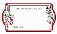 Free Lunch Coupon Template 8 Homemade Voucher Template Sampletemplatess