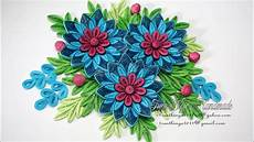 Flower Design For Cards Quilling Flower V8 Tutorial Diy Paper Flower Handmade