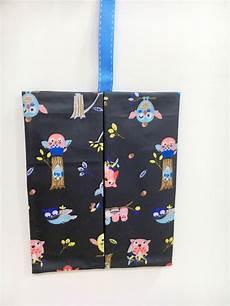 Amevi Designs Owls In Black Waterproof Kleenex Travel Tissue Holder