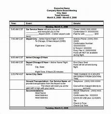 Itinerary Template Pages Itinerary Template 14 Free Word Excel Pdf Documents