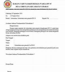 contoh surat undangan resmi yang baik dan benar contoh surat