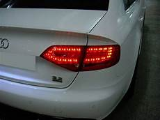 Audi A4 Prnds Lights Calaveras Led Estilo Rs4 Para Audi A4 B8 Sedan 2009 2012