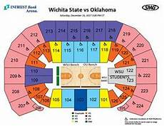 Intrust Bank Arena Seating Chart With Seat Numbers Seating Charts Events Amp Tickets Intrust Bank Arena