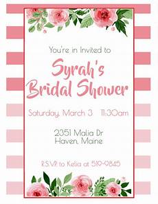 Bridal Shower Flyer Copy Of Bridal Shower Postermywall