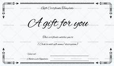 Ms Word Gift Certificate Template Gift Certificate Templates