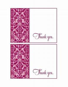 thank you for card template 30 free printable thank you card templates wedding