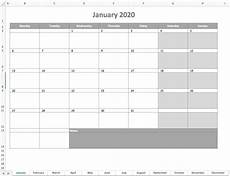 microsoft calendar templates 2020 monthly calendar 2020