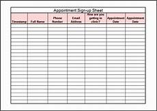 Club Sign Up Sheet Template Word 6 Club Phone Log Template Sampletemplatess