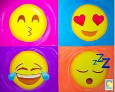 Easy Emoji Art Emoji Sip And Paint Party Kids Painting Party Emoji