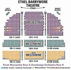 Barrymore Theater Seating Chart Barrymore Theatre Seating Chart The Band S Visit Guide