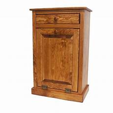 tilt out wood trash bin cabinet from dutchcrafters
