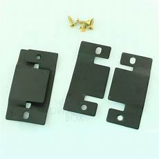 sectional sofa connector bracket interlock joint black