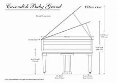 Baby Grand Piano Dimensions New Classic Upright Piano From Cavendish