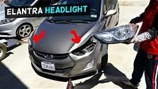 Hyundai Elantra Light Removal Hyundai Elantra Headlight Replacement 2011 2012 2013 2014