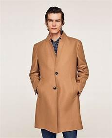 zara coats winter sale pins image 2 of coat with lapel seams from zara coat
