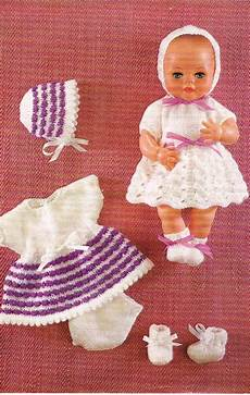 12 dolls clothes knitting pattern pdf instant