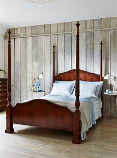 Bed With Posts Mahogany 4 Poster Bed Titchmarsh Goodwin