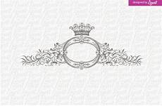 Wedding Logo Royal Logo Vintage Wedding Logo Logo Templates