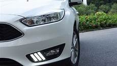 2016 Ford Focus Lights Ijdmtoy Ford Focus Led Daytime Running Lights In Mustang