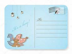 Baby Post Cards Baby Shower Postcard Stock Vector 169 578foot 5178499