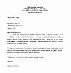 Example Of A Nursing Cover Letters Free 9 Sample Nurse Cover Letter Templates In Pdf Ms Word