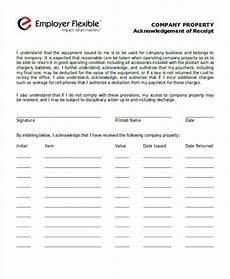 equipment receipt form template 40 sle receipt forms