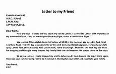 Example Of Personal Letter Format How To Write A Personal Letter With Examples Examples
