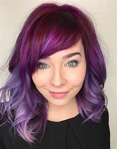 hair purple 40 versatile ideas of purple highlights for brown