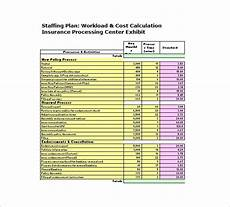 Staffing Chart Template 13 Staffing Plan Templates Free Sample Example Format