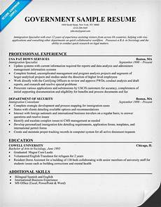 Government Resume Format Federal Resume Template Template Business