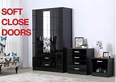 gladini xl high gloss 3 door 3 trio bedroom