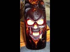Frenched Led Lights Flush Frenched In Lexan Skull Led Youtube