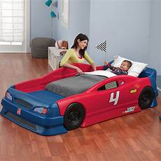 stock car convertible bed bed step2