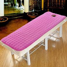 salon non slip mattress bed sheet linens cotton spa