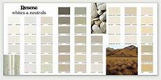 Solver Color Chart The New Resene Whites Amp Neutrals Flat Chart