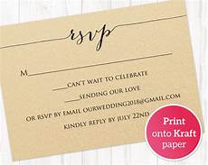 Rsvp Template Rsvp Card Printable Template 183 Wedding Templates And