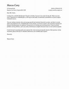 bookkeeper cover letters bookkeeper cover letter template cover letter templates