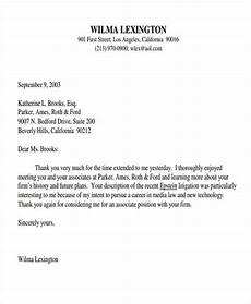 Thank You Letter For Interview Opportunity 9 Post Interview Thank You Letter Template Free Sample