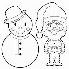 ausmalbilder nikolaus weihnachtsmann ausmalbild weihnachten schneemann und weihnachtsmann