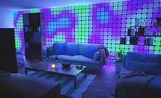 Leaf Tile Lights Home Gadget Nano Leaf Square Color Changing Light Panels