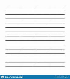 Blank Line Paper Blank White Sheet With Lines Empty Page From A Book Mock