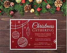 Office Christmas Party Invites 4 25 X 5 5 Printable Office Christmas Party Etsy