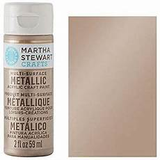 Martha Stewart Craft Paint Color Chart Wedding Colour 1 Metallic Champagne Pink Leave It To