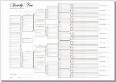 Free Family History Charts A3 Six Generation Pedigree Chart